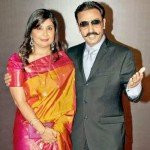 Gulshan Grover with Ex wife Kashish Grover