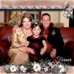 Keziah Daum With Her Parents