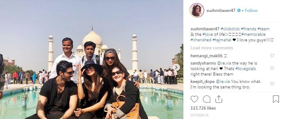 Sushmita Sen's Instagram post