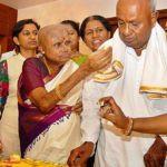 H. D. Kumaraswamy Parents