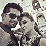 Vishal Singh with Jeena Gupta
