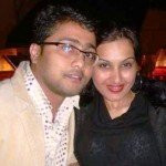 Kamya Punjabi with Ex-husband Bunty Negi