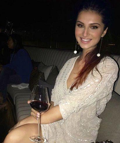 Tara Sutaria drinks alcohol