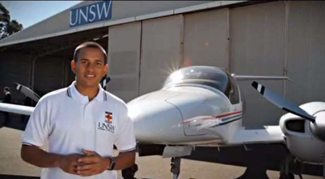 Usman Khawaja is a licensed commercial pilot