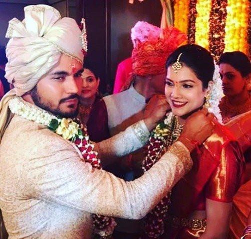 Ashrita Shetty's wedding picture