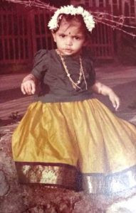Chinmayi in her Childhood