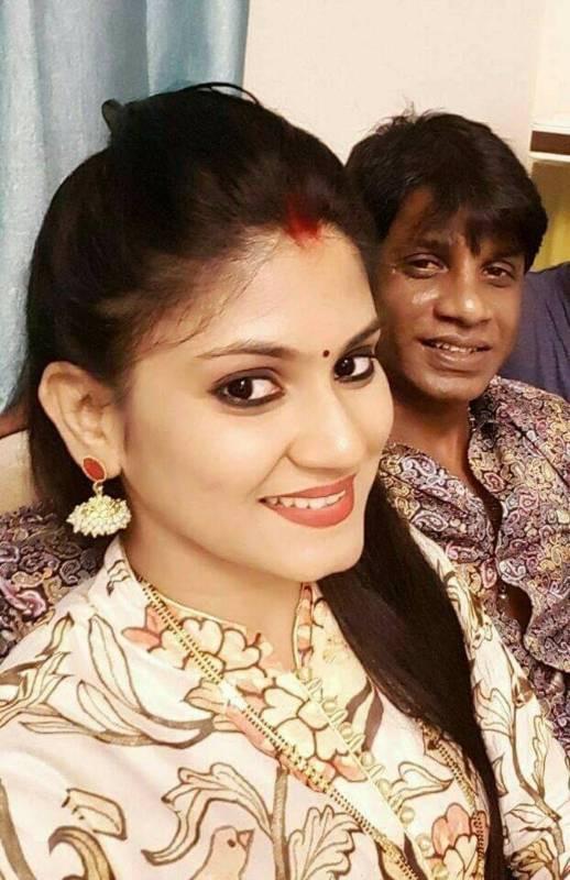 Duniya Vijay with his wife Keerthi Pattadi