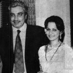 Waheeda Rehman and her Husband Kamaljeet