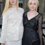 Dakota Fanning (Right) with her sister Elle