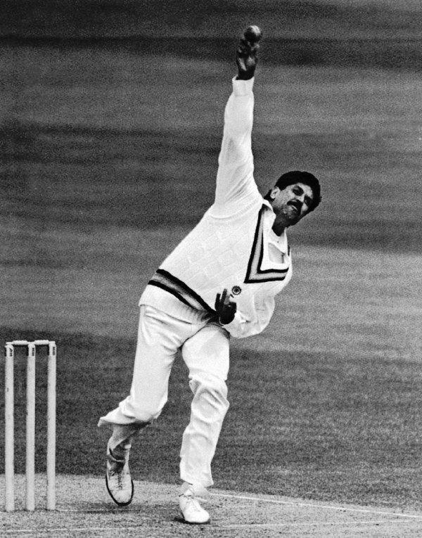 Kapil Dev's Bowling Action