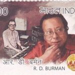 R. D. Burman's Postage Stamp