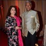 Rajendra Gupta with wife
