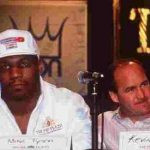 Mike Tyson with Kevin Rooney