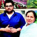 Kartikeya Sharma With His Mother