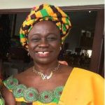 Mrs Cecilia mother of Gyan