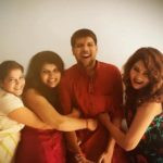 Kamna Pathak With Her Brother And Sisters