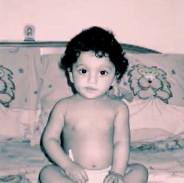 Terence Lewis' Childhood Photo