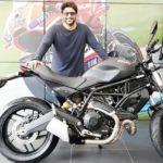 Arshad Warsi's Bike Ducati Monster 797 Dark Edition