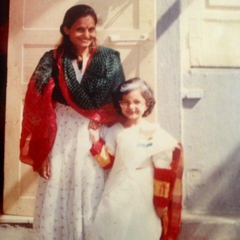 Giaa Manek Childhood Photo