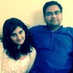 Vedika Bhandari with her father