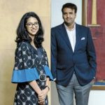 Anand Piramal with his sister