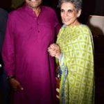 Kapil Dev With His Wife Romi