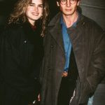 Liam Nesson With His Ex-Girlfriend Brooke Shields