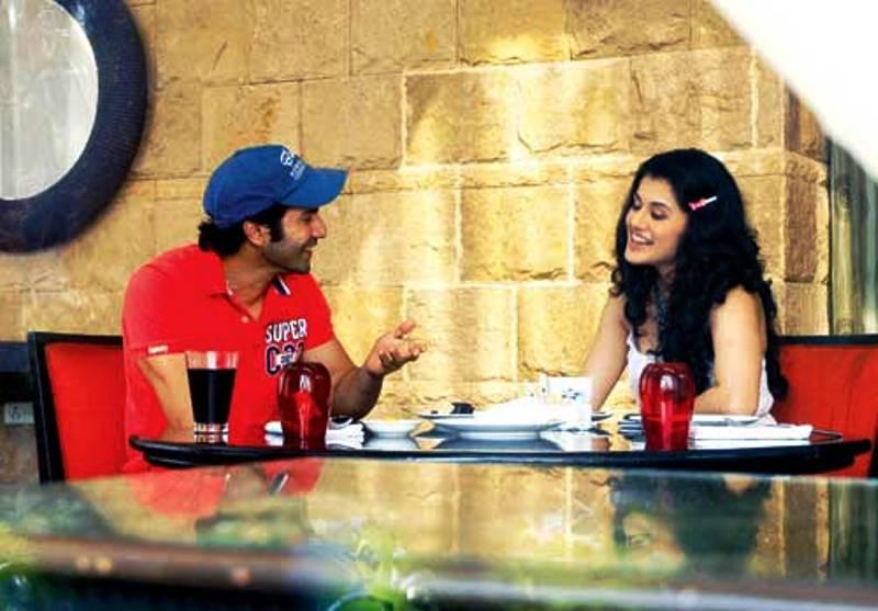 Varun Dhawan With Tapsee Pannu