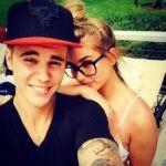 Hailey Baldwin With Her Ex-Boyfriend Justin Bieber
