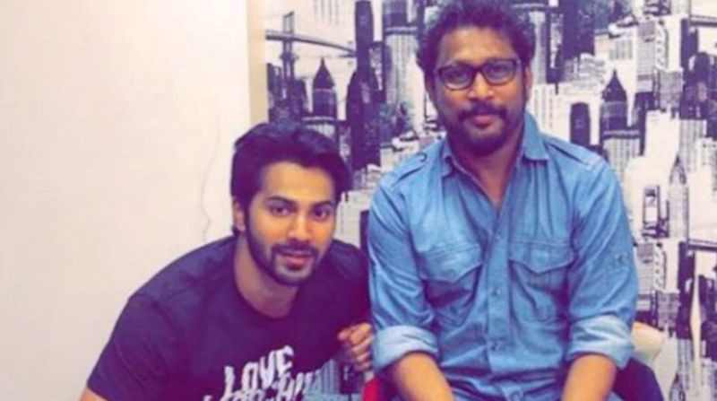 Varun Dhawan With Shoojit Sircar