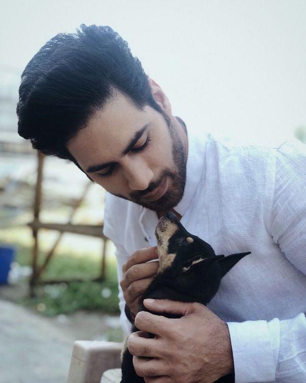 Gaurav Alugh, A Dog Lover