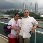 Shubhangi Atre's parents