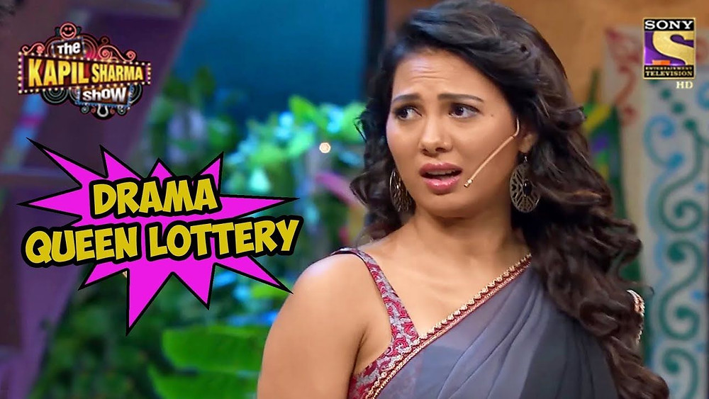 Rochelle Rao in 'The Kapil Sharma Show'