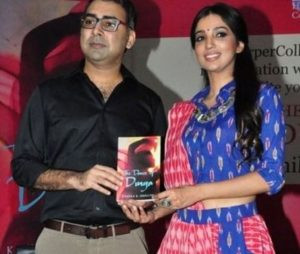 Kanika Dhillon during 'The Dance of Durga' Launch Event
