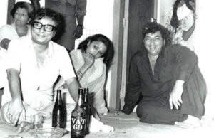 R D Burman Drinking Alcohol