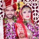 Sheena Bajaj And Rohit Purohit's Marriage Photo