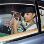 Aamir Khan In His Car Rolls Royce Ghost