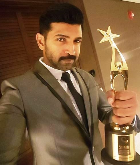 Arun Vijay's SIIMA Award
