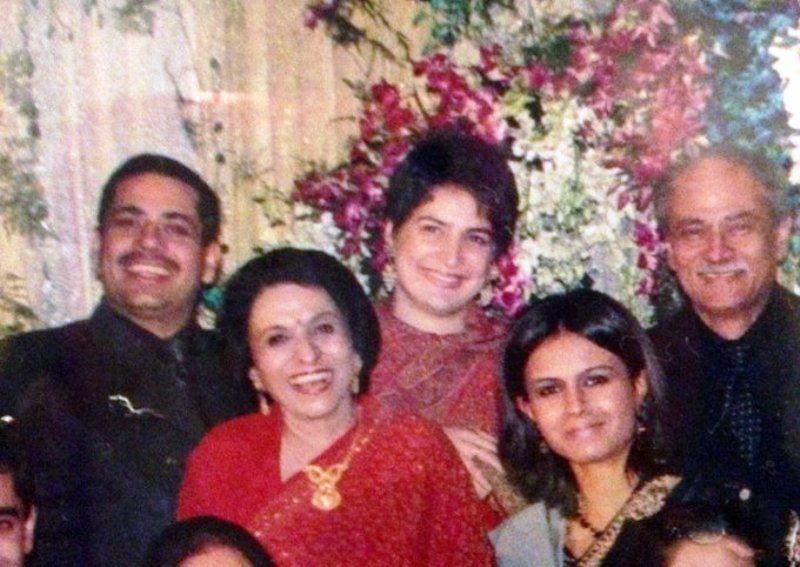 Monicka Vadera with Her Family