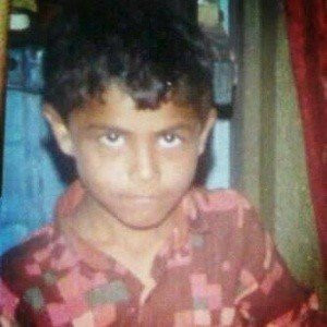Ravindra Jadeja's Childhood Picture
