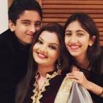 Deepshikha with her children