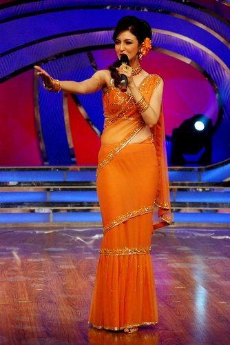 Saumya Tandon hosted 'Dance India Dance'