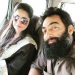 Manav Vij with his wife