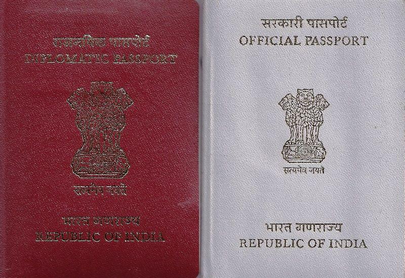 Diplomatic Passport India