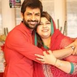 Manish Goel with his sister Meghna Sharma