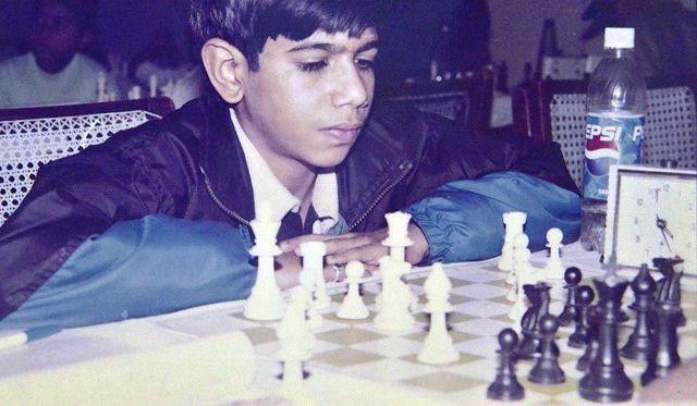 Yuzvendra Chahal Playing Chess