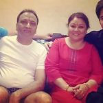 Anshuman Malhotra with his family