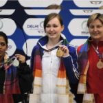 Tejaswini Sawant After Winning Silver Medal At 2018 Gold Coast Commonwealth Games