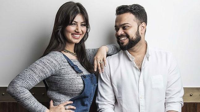 Farhan Azmi with Ayesha Takia