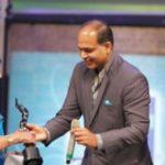 Bhanu Athaiya in 54th Filmfare Awards